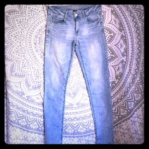 American Eagle super stretch Size 8 X-Long Jeans